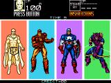 Captain America and the Avengers Arcade Select hero