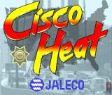 Cisco Heat: All American Police Car Race Arcade Title Screen.