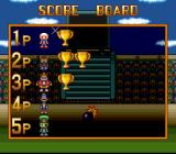 Super Bomberman 5 SNES Battle Score Board