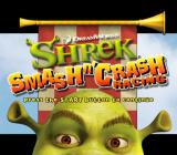 Shrek Smash N' Crash Racing PlayStation 2 Title screen.