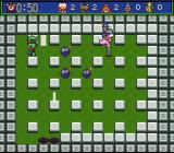 Super Bomberman 5 SNES As time runs out, the stage closes in
