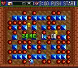 Super Bomberman 5 SNES Normal mode, Zone 1-08