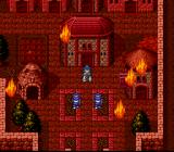 Breath of Fire SNES Burning village