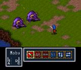 Breath of Fire SNES Random battle against two pigs... or whatever they are.