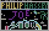 Joe Snow DOS Title screen