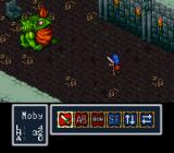 Breath of Fire SNES Boss battle