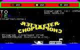 Choplifter! Thomson TO Title screen