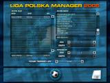 Liga Polska Manager 2005 Windows Selecting the team