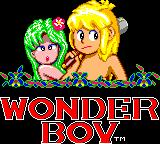 Wonder Boy Game Gear Title