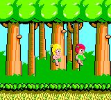 Wonder Boy Game Gear A cute girl is taking you somewhere...