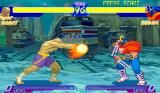 Street Fighter Alpha: Warriors' Dreams Arcade Tiger Cannon