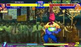 Street Fighter Alpha: Warriors' Dreams Arcade Energy attack