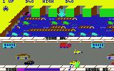Jumpin' Jack Commodore 64 One frog rescued