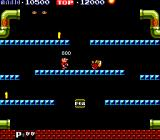Mario Bros. Arcade Defenceless enemy