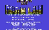 Wonder Boy in Monster Land Commodore 64 Title