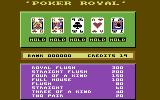 Video Card Arcade Commodore 64 Poker: Which to hold?