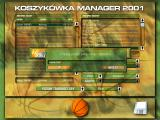 Koszykówka Manager 2001 Windows Enter Your name