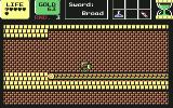Wonder Boy in Monster Land Commodore 64 On a conveyor belt