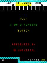 No Man's Land Arcade Push start