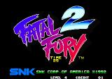 Fatal Fury 2 Arcade Title screen