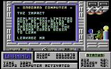 Zone Trooper Commodore 64 Onboard Computer.