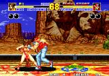 Fatal Fury 2 Arcade Fist in face