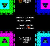 Warlords Arcade Insert Coin.