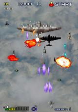 Strikers 1945 Arcade Fight in skies