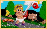 Wonder Boy in Monster Land Amiga Title