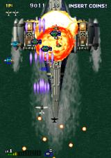 Strikers 1945 Arcade Big battleship