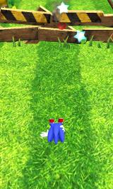 Sonic Dash Android Running into an obstacle