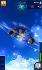 Sonic Dash Android Stroke Sonic for extra rings
