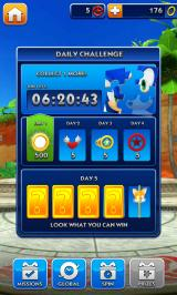 Sonic Dash Android Daily challenge