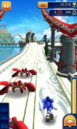 Sonic Dash Android Ocean Palace