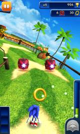 Sonic Dash Android Smaller obstacles