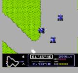 Famicom Grand Prix: F1 Race NES Nearly missed the pit! Need repairs!