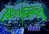 Alien Storm Arcade Game title