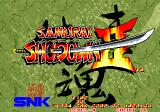 Samurai Shodown II Arcade Title screen