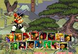Samurai Shodown II Arcade Player select