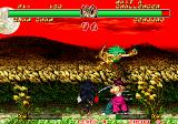Samurai Shodown II Arcade Death form above