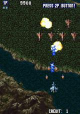 Aero Fighters Arcade Enemy squadron