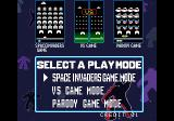 Space Invaders DX Arcade Mode selection