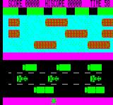 Road Frog Oric Awful graphics, but at least the frog looks like a frog, unlike the Speccy version