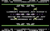 Sheep in Space Commodore 64 Title Screen.