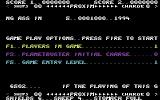 Sheep in Space Commodore 64 Options.