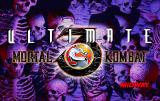 Ultimate Mortal Kombat 3 Arcade Title screen