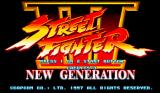 Street Fighter III: New Generation Arcade Title screen