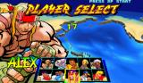 Street Fighter III: New Generation Arcade Character select