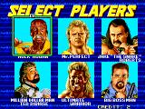 WWF WrestleFest Arcade Tag Match: Player Select.