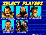 WWF WrestleFest Arcade Tag Match: Can't seperate Demolition.